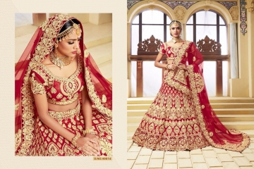 TARAH COLLECTION BY RIVAAJ VOL 2 PARTY WEAR WEDDING LEHENGA COLLECTION WHOLESALE BEST RATE BY GOSIYA EXPORTS (3)