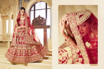 TARAH COLLECTION BY RIVAAJ VOL 2 PARTY WEAR WEDDING LEHENGA COLLECTION WHOLESALE BEST RATE BY GOSIYA EXPORTS (4)