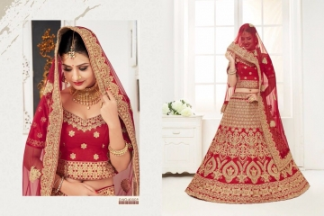 TARAH RIVAAJ 1 DESIGNER PARTY WEAR WEDDING LEHENGA COLLECTION WHOLESALE RATE BEST BY GOSIYA EXPORTS SURAT (2)