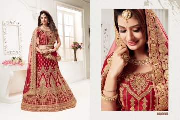 TARAH RIVAAJ 1 DESIGNER PARTY WEAR WEDDING LEHENGA COLLECTION WHOLESALE RATE BEST BY GOSIYA EXPORTS SURAT (3)