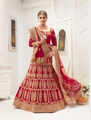 TARAH RIVAAJ 1 DESIGNER PARTY WEAR WEDDING LEHENGA COLLECTION WHOLESALE RATE BEST BY GOSIYA EXPORTS SURAT