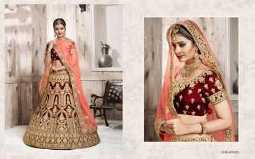 TARAH RIVAAJ 4 WEDDING LEHENGA COLLECTION WHOLESALER SUPPLIER ONLINE SURAT BEST RATE (2)