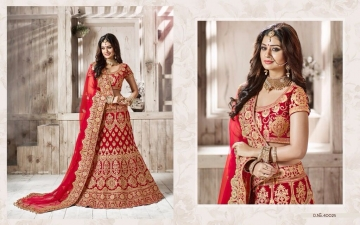 TARAH RIVAAJ 4 WEDDING LEHENGA COLLECTION WHOLESALER SUPPLIER ONLINE SURAT BEST RATE (6)