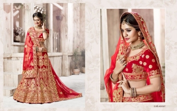 TARAH RIVAAJ 4 WEDDING LEHENGA COLLECTION WHOLESALER SUPPLIER ONLINE SURAT BEST RATE (7)