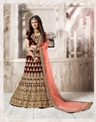 TARAH RIVAAJ 4 WEDDING LEHENGA COLLECTION WHOLESALER SUPPLIER ONLINE SURAT BEST RATE BY GOSIYA EXPORTS SURAT