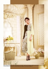 THE DESIGNER MEEM VOL 3 CATALOG FAUX GEORGETTE EMBROIDERED PARTY WEAR KURTIS (5)