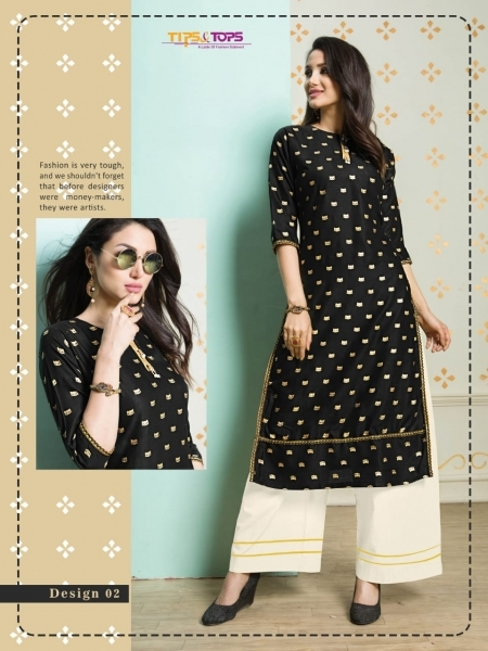 TIP AND TOPS ZURI COTTON FABRIC TOP WITH PALAZZO WHOLESALE DEALER BEST RATE BY GOSIYA EXPORTS SURAT (1)
