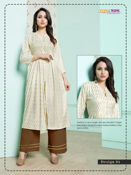 TIP AND TOPS ZURI COTTON FABRIC TOP WITH PALAZZO WHOLESALE DEALER BEST RATE BY GOSIYA EXPORTS SURAT (5)