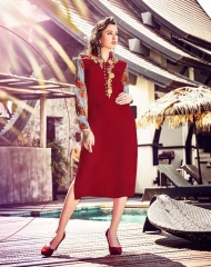 Titli aesthetic Kurties Collection Wholesale BEST RATE supplier BY GOSIYA EXPORTS SURAT