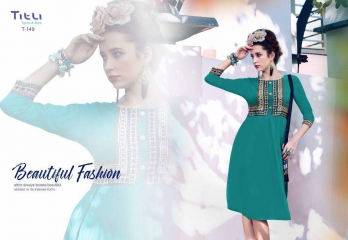 TITLI BELLAZ RAYON DIGITAL PRINT KURTI WHOLESALE RATE AT GOSIYA EXPORTS SUART WHOLESALE DEALER AND SUPPLAYER AT SURAT GUJARAT (11)