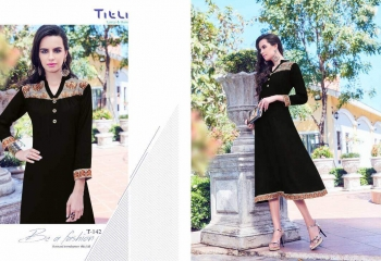 TITLI BELLAZ RAYON DIGITAL PRINT KURTI WHOLESALE RATE AT GOSIYA EXPORTS SUART WHOLESALE DEALER AND SUPPLAYER AT SURAT GUJARAT (4)