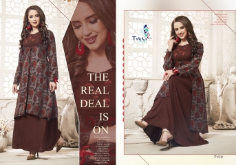 TITLI BY BREATHE CATALOG RAYON ETHNIC WEAR KURTIS (1)
