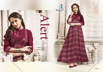 TITLI BY BREATHE CATALOG RAYON ETHNIC WEAR KURTIS (5)