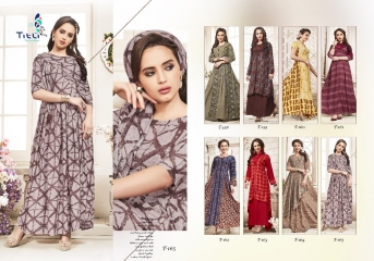 TITLI BY BREATHE CATALOG RAYON ETHNIC WEAR KURTIS (6)