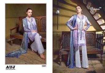 TM COSMOS AUJ LUXURY LAWN SALWAR KAMEEZ COLLECTION WHOLESALE BY GOSIYA EXPORTS (1)