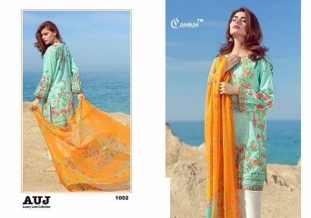 TM COSMOS AUJ LUXURY LAWN SALWAR KAMEEZ COLLECTION WHOLESALE BY GOSIYA EXPORTS (2)