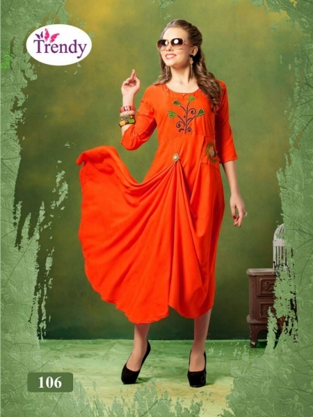 TRENDY UNIQUE LOOKK HEAVY RAYON FABRIC WITH EMBROIDERY WORK (3)