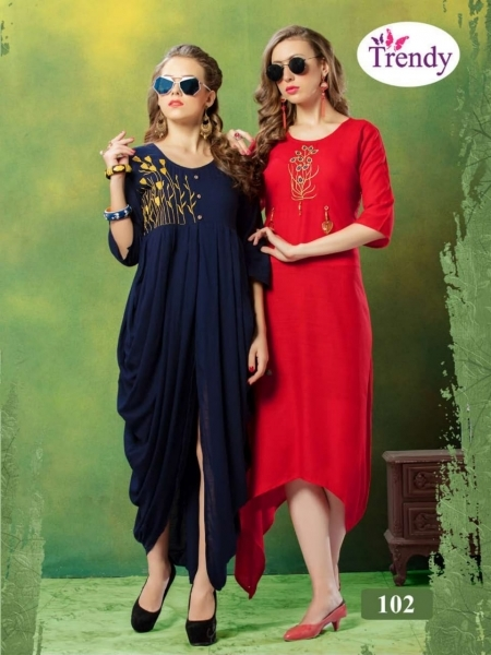 TRENDY UNIQUE LOOKK HEAVY RAYON FABRIC WITH EMBROIDERY WORK (6)