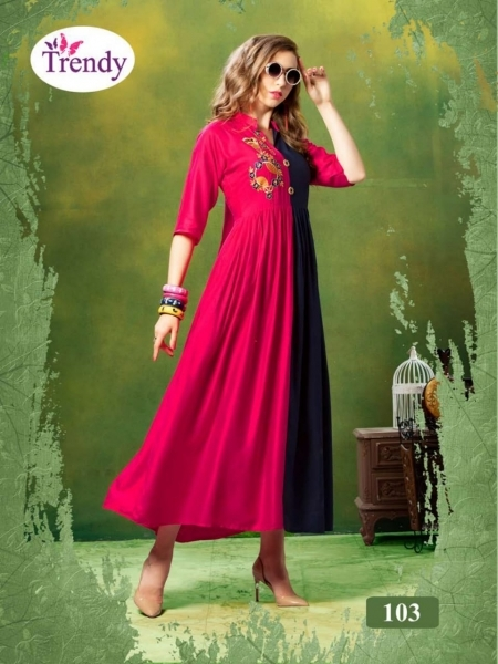 TRENDY UNIQUE LOOKK HEAVY RAYON FABRIC WITH EMBROIDERY WORK (7)