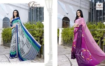 Triveni ambreen 10 printed sarees (1)
