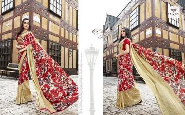 Triveni ambreen 10 printed sarees (2)