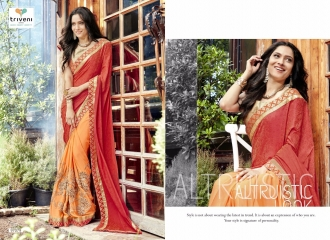 TRIVENI JHUMRI VOL 9 EXCLUSIVE FANCY SAREE CATALOG AT BEST RATE BY GOSIYA EXPORTS SURAT (10)