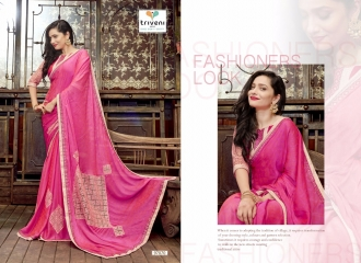 TRIVENI JHUMRI VOL 9 EXCLUSIVE FANCY SAREE CATALOG AT BEST RATE BY GOSIYA EXPORTS SURAT (2)