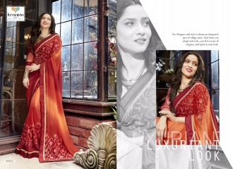 TRIVENI JHUMRI VOL 9 EXCLUSIVE FANCY SAREE CATALOG AT BEST RATE BY GOSIYA EXPORTS SURAT (4)