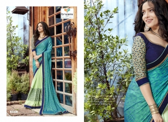 TRIVENI JHUMRI VOL 9 EXCLUSIVE FANCY SAREE CATALOG AT BEST RATE BY GOSIYA EXPORTS SURAT (5)