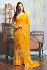 TRIVENI MARIA GEORGETTE PRINTS SAREES COLLECTION WHOLESALE BEST RATE SUPPLIER SELLER BY GOSIYA EXPORTS SURAT (4)