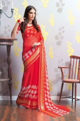 TRIVENI MARIA GEORGETTE PRINTS SAREES COLLECTION WHOLESALE BEST RATE SUPPLIER SELLER BY GOSIYA EXPORTS SURAT (5)