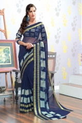 TRIVENI MARIA GEORGETTE PRINTS SAREES COLLECTION WHOLESALE BEST RATE SUPPLIER SELLER BY GOSIYA EXPORTS SURAT (6)