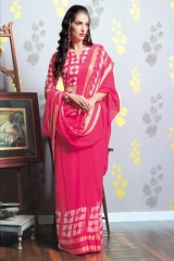 TRIVENI MARIA GEORGETTE PRINTS SAREES COLLECTION WHOLESALE BEST RATE SUPPLIER SELLER BY GOSIYA EXPORTS SURAT (8)