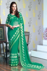 TRIVENI MARIA GEORGETTE PRINTS SAREES COLLECTION WHOLESALE BEST RATE SUPPLIER SELLER BY GOSIYA EXPORTS SURAT (9)