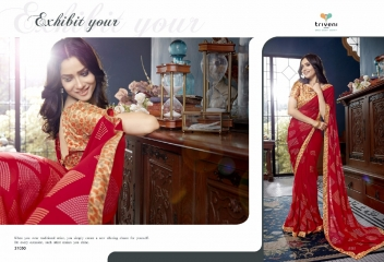 TRIVENI RANJHANA VOL 2 GEORGETTE PRINTS CASUAL WEAR SAREES COLLECTION WHOLESALE BEST RATE BY GOSIYA EXPORTS SURAT (2)