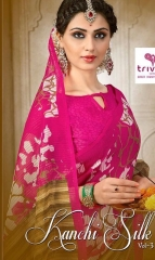 TRIVENI SAREE D.NO 2133 TO 2140 WHOLESALE RATE (10)