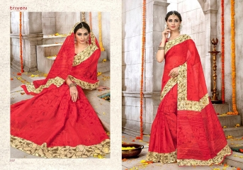 TRIVENI SAREE D.NO 2133 TO 2140 WHOLESALE RATE (5)