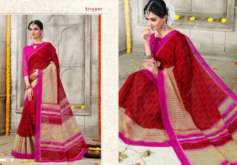 TRIVENI SAREE D.NO 2133 TO 2140 WHOLESALE RATE (9)