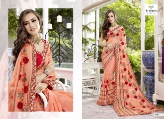 TRIVENI TRISHLA ELEGANT PRINTED SAREE TRIVENI CATALOG IN WHOLESALE BEST ARTE BY GOSIYA EXPORTS SURAT (1)