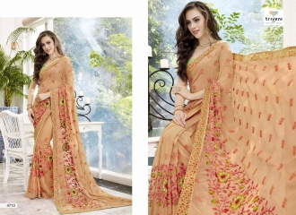 TRIVENI TRISHLA ELEGANT PRINTED SAREE TRIVENI CATALOG IN WHOLESALE BEST ARTE BY GOSIYA EXPORTS SURAT (10)