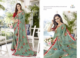 TRIVENI TRISHLA ELEGANT PRINTED SAREE TRIVENI CATALOG IN WHOLESALE BEST ARTE BY GOSIYA EXPORTS SURAT (11)