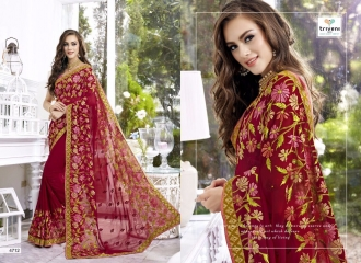 TRIVENI TRISHLA ELEGANT PRINTED SAREE TRIVENI CATALOG IN WHOLESALE BEST ARTE BY GOSIYA EXPORTS SURAT (12)