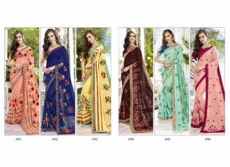 TRIVENI TRISHLA ELEGANT PRINTED SAREE TRIVENI CATALOG IN WHOLESALE BEST ARTE BY GOSIYA EXPORTS SURAT (13)