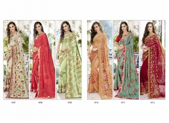 TRIVENI TRISHLA ELEGANT PRINTED SAREE TRIVENI CATALOG IN WHOLESALE BEST ARTE BY GOSIYA EXPORTS SURAT (14)