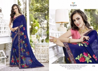 TRIVENI TRISHLA ELEGANT PRINTED SAREE TRIVENI CATALOG IN WHOLESALE BEST ARTE BY GOSIYA EXPORTS SURAT (2)