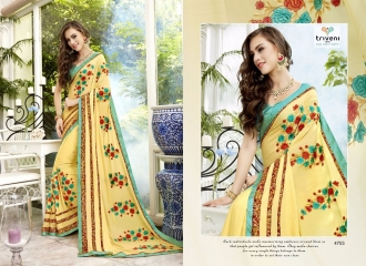 TRIVENI TRISHLA ELEGANT PRINTED SAREE TRIVENI CATALOG IN WHOLESALE BEST ARTE BY GOSIYA EXPORTS SURAT (3)