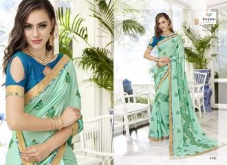 TRIVENI TRISHLA ELEGANT PRINTED SAREE TRIVENI CATALOG IN WHOLESALE BEST ARTE BY GOSIYA EXPORTS SURAT (5)