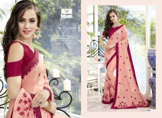 TRIVENI TRISHLA ELEGANT PRINTED SAREE TRIVENI CATALOG IN WHOLESALE BEST ARTE BY GOSIYA EXPORTS SURAT (6)