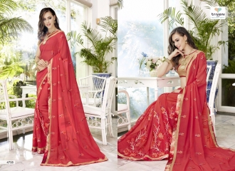 TRIVENI TRISHLA ELEGANT PRINTED SAREE TRIVENI CATALOG IN WHOLESALE BEST ARTE BY GOSIYA EXPORTS SURAT (8)