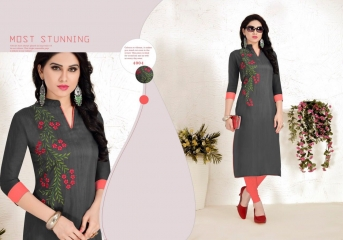 TULIP ETERNAL FAIR SILK KURTI WHOLESALER BEST RATE BY GOSIYA EXPORTS SURAT (2)